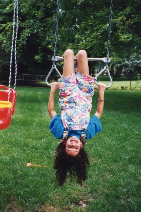 Rachel as a Child