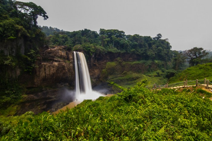 20150307_Peace Corps_Cameroon_Twin Crater Lakes_Ekom Waterfall_4493