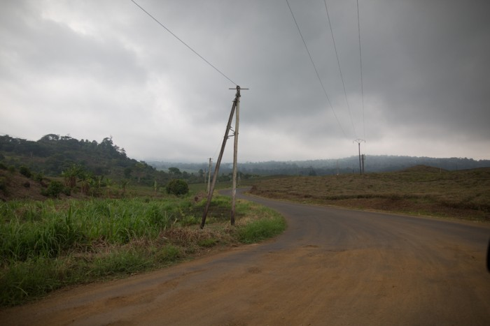 Road to Buea from Limbe