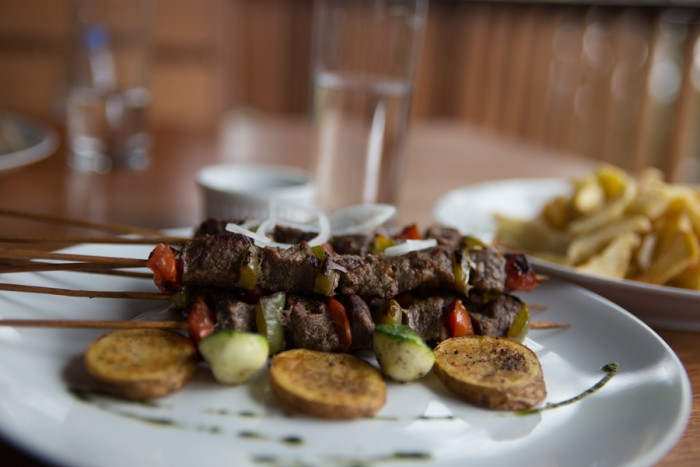 Beef Skewers from Lya Buea, a restaurant founded by a Cameroonian born and raised in London