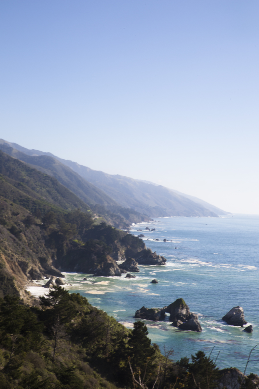 Everywhere we went on the Pacific Coast Highway, we were constantly blown away by the geographic formations of the coast.
