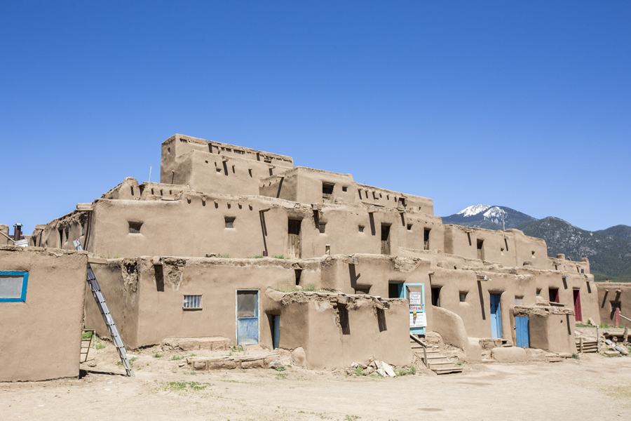 Alex and I visited Taos Pueblo, one of the oldest continuous inhabited place in the US. Archeologists believe that this dwelling was built between 1000 and 1450 AD, before Christopher Columbus discovered America.