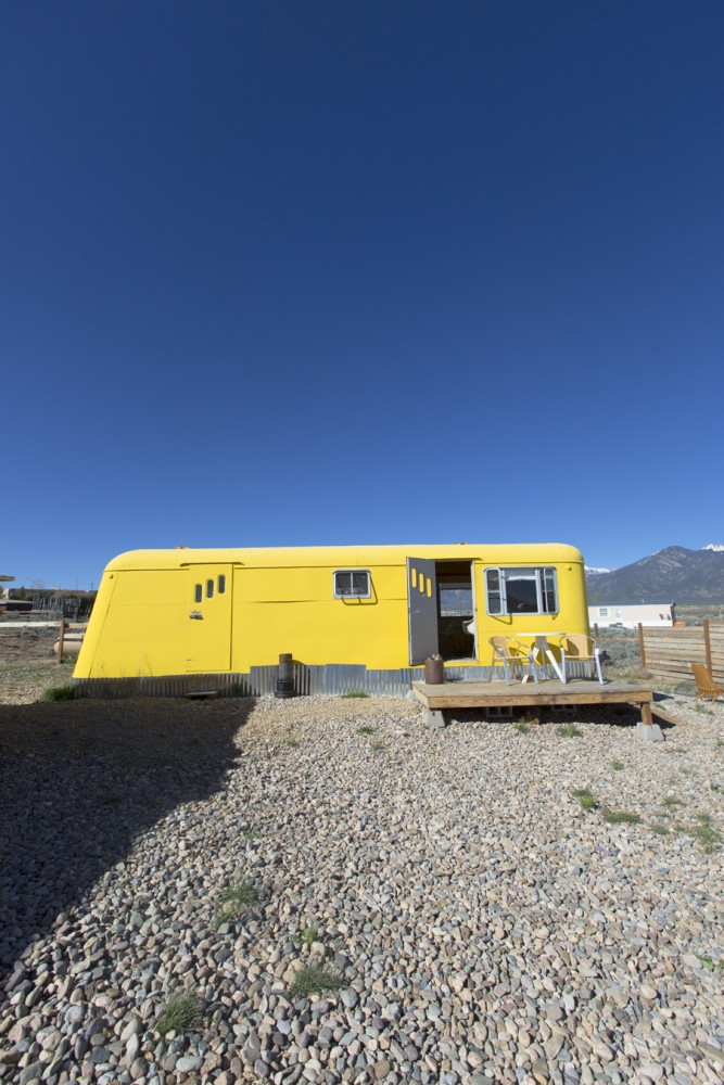Our Airbnb for one night in Taos!